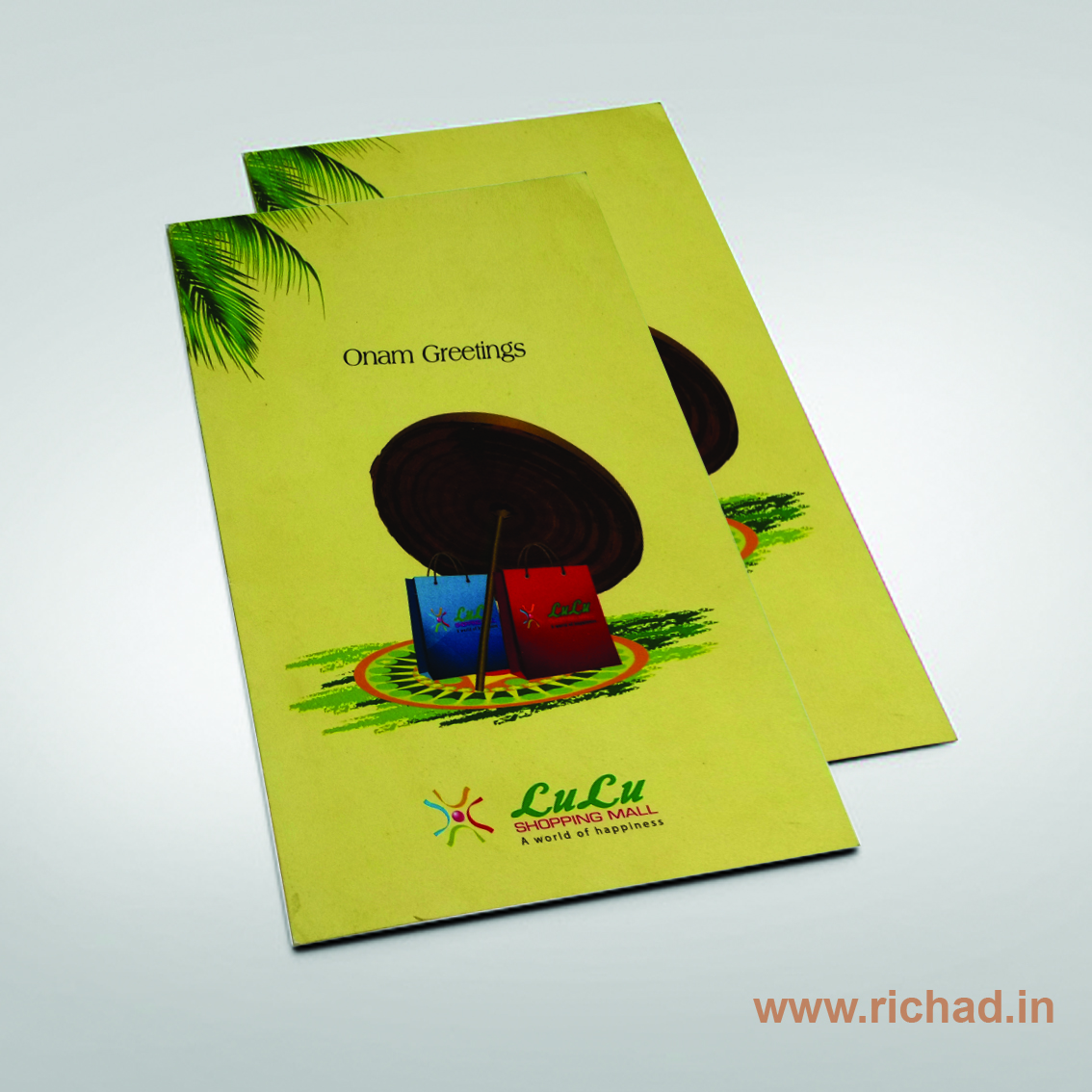 Onam Greeting Card Richad